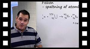 Fission, spaltning af uran