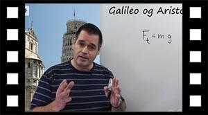 Galileo og Aristoteles