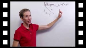 Pythagoras sætning kan fortælle om en trekant er retvinklet