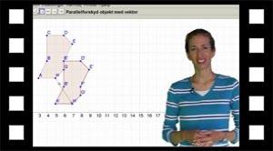 Parallelforskydning i Geogebra