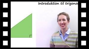 Introduktion til kapitlet Trigonometri