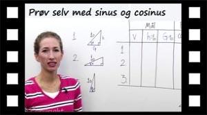 Aktivitet: Prøv selv med sinus og cosinus