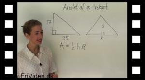Eksempel: Arealet af to trekanter