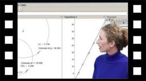 Øvelse: Vis sammenhængen mellem radius og omkreds i en cirkel ved hjælp af Geogebra.