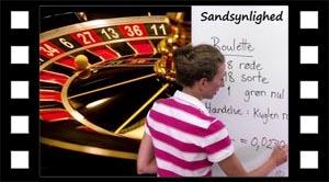 Sandsynlighed og roulette