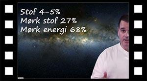 Stof, mørkt -stof og -energi.