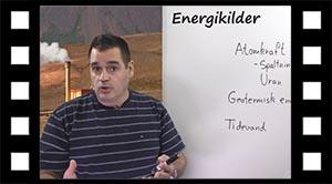 Energi der ikke er fra solen