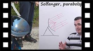 Parabol solfanger