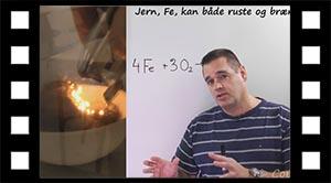 Brænd jern, Fe