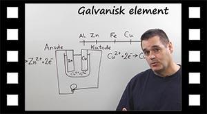 Batteri, Galvanisk element