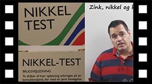 Zink, Nikkel og Krom