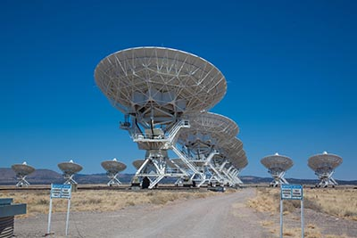 Radio teleskop, the Very Large Array, New Mexico